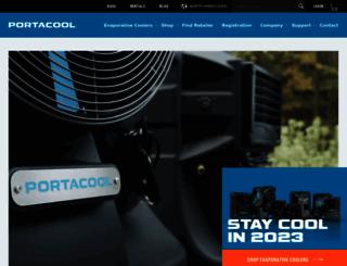 port-a-cool.com screenshot