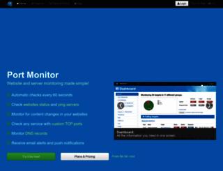 port-monitor.com screenshot