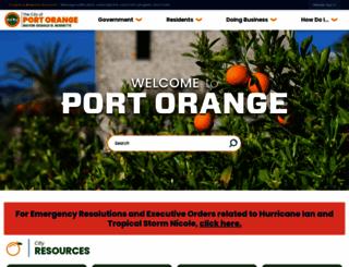 port-orange.org screenshot