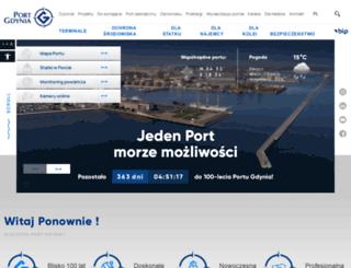 port.gdynia.pl screenshot