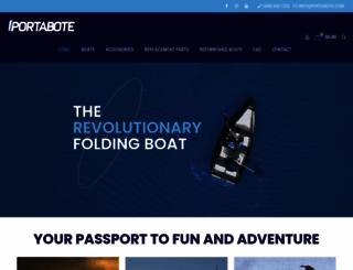 porta-bote.com screenshot