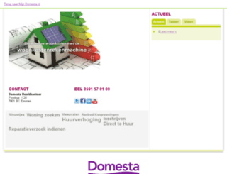 portaal.domesta.nl screenshot