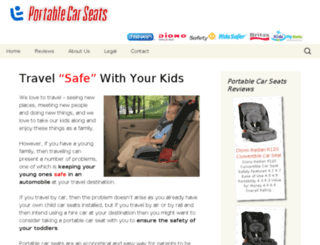portablecarseats.org screenshot