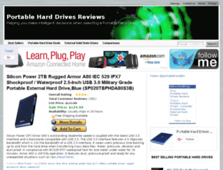 portableharddrivesreviews.com screenshot