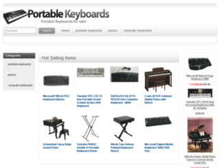portablekeyboards.org screenshot