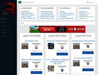 portableroms.com screenshot