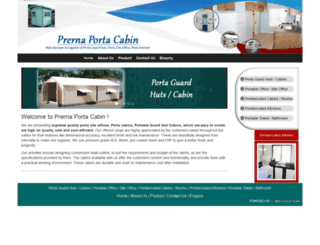 portacabinmanufacturer.com screenshot