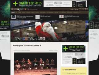portageinvite.runnerspace.com screenshot