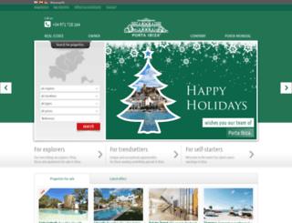 portaibiza.com screenshot