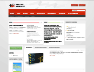 portail-securite.com screenshot