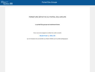 portail.csp.qc.ca screenshot