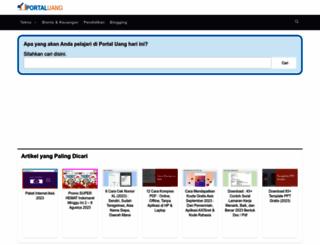 portal-uang.com screenshot