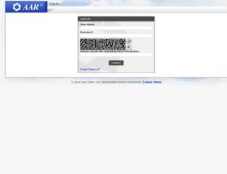 portal.aarcorp.com screenshot