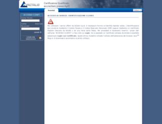 portal.actalis.it screenshot