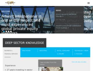 portal.adventinternational.com screenshot