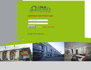 portal.agilep3.com screenshot