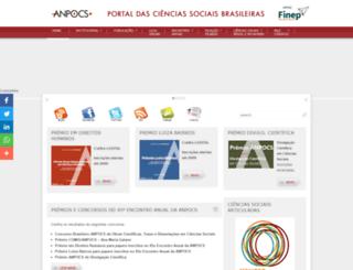 portal.anpocs.org screenshot