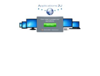 portal.applications2u.com screenshot