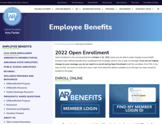 portal.arbenefits.org screenshot