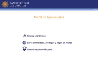 portal.bcu.gub.uy screenshot