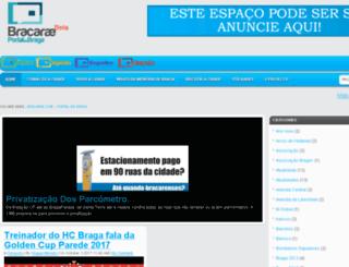 portal.bracarae.com screenshot