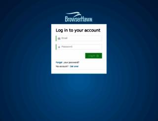 portal.browserhawk.com screenshot