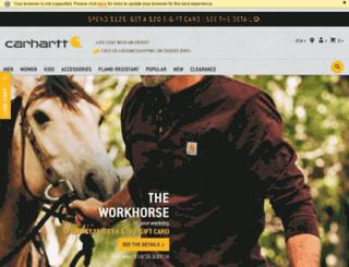 portal.carhartt.com screenshot
