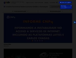 portal.cnpq.br screenshot