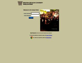 portal.cooley.edu screenshot