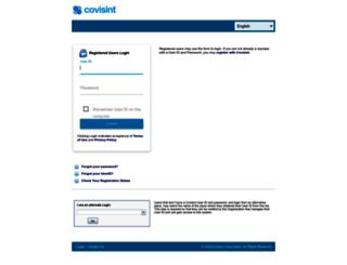 portal.covisint.com screenshot