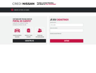 portal.credinissan.com.br screenshot