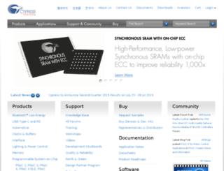 portal.cypress.com screenshot