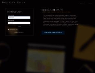 portal.dailycourtreview.com screenshot