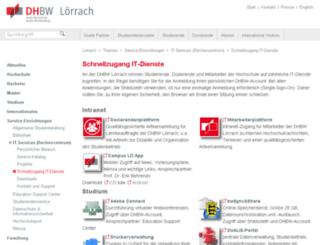 portal.dhbw-loerrach.de screenshot