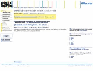 portal.dnb.de screenshot