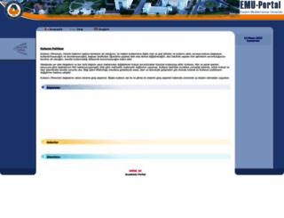 portal.emu.edu.tr screenshot