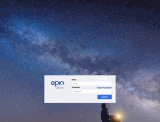 portal.epiqsystems.com screenshot