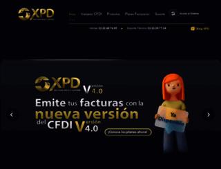 portal.expidetufactura.com.mx screenshot
