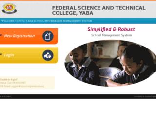 portal.fstcyaba.com screenshot
