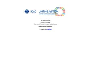 portal.icao.int screenshot