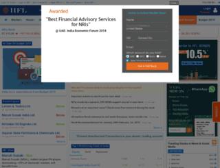 portal.indiainfoline.com screenshot