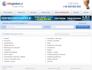 portal.infoglobal.pl screenshot