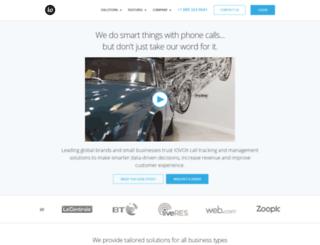 portal.iovox.com screenshot