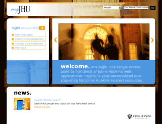 portal.johnshopkins.edu screenshot