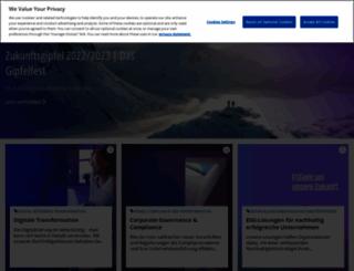 portal.kpmg-community.de screenshot