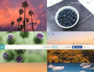portal.mimedia.com screenshot