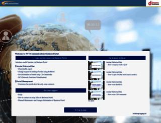 portal.ntt.net screenshot