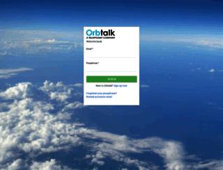 portal.orbtalk.co.uk screenshot