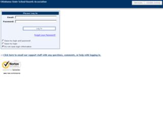 portal.ossba.org screenshot