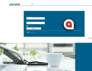 portal.planet33.com screenshot